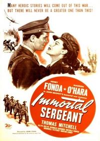 Бессмертный сержант / Immortal sergeant (1943)